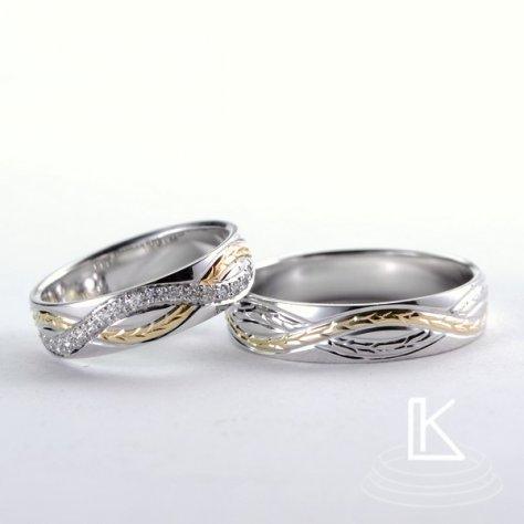 Snubní prsteny č. 72