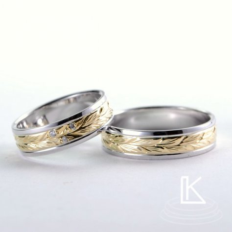 Snubní prsteny č. 73