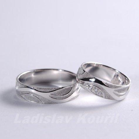 Snubní prsteny č 59