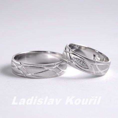 Snubní prsteny č 63