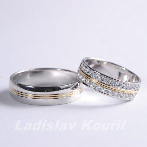 Snubní prsteny č 66