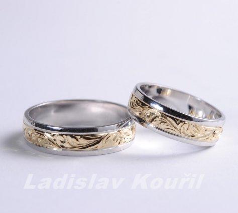 Snubní prsteny č 68