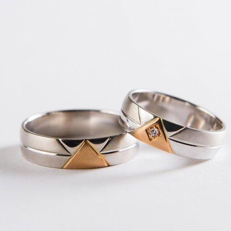 Snubní prsteny č 6