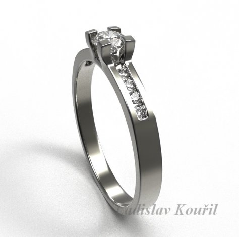 Zásnubní prsten č 17