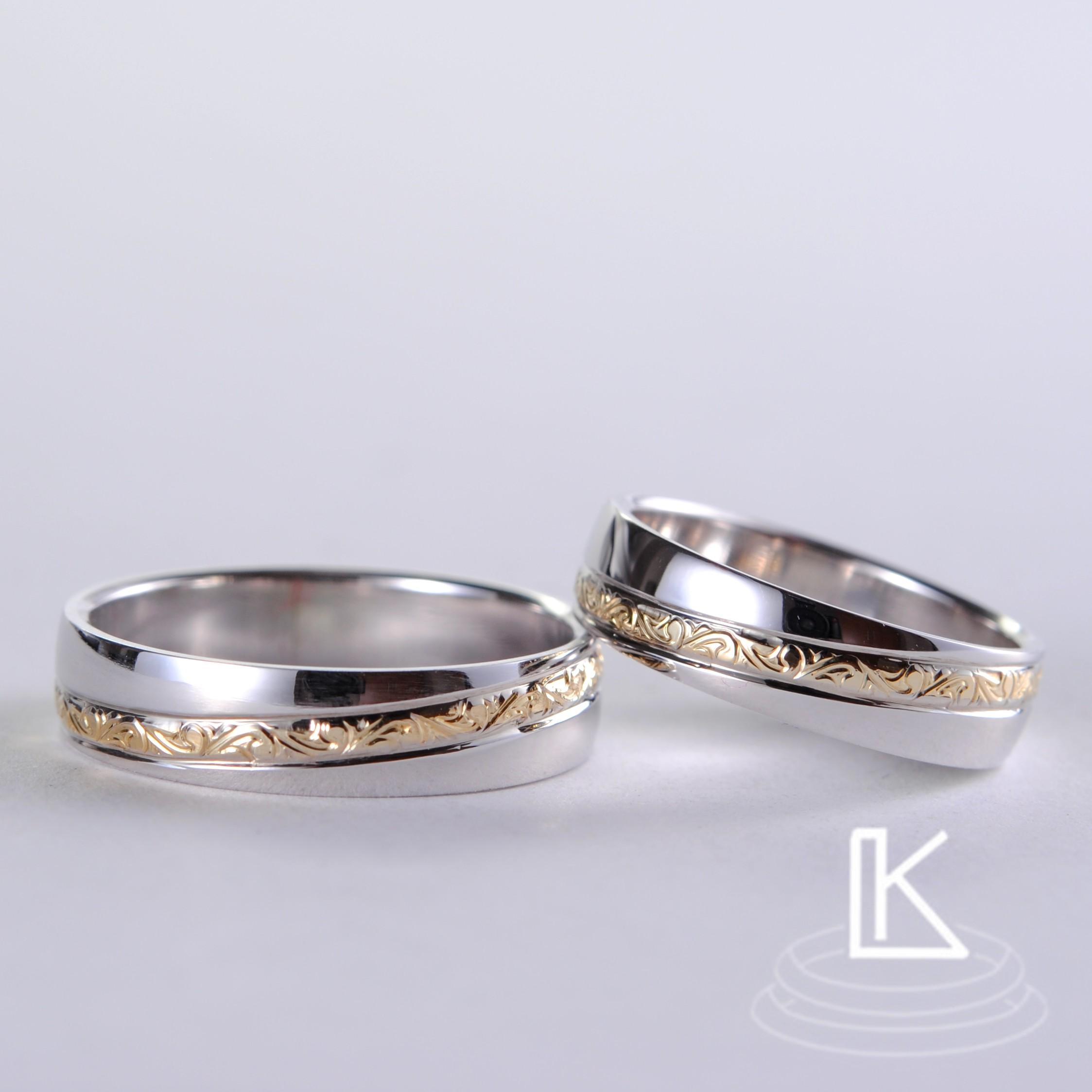 Snubní prsteny č 69