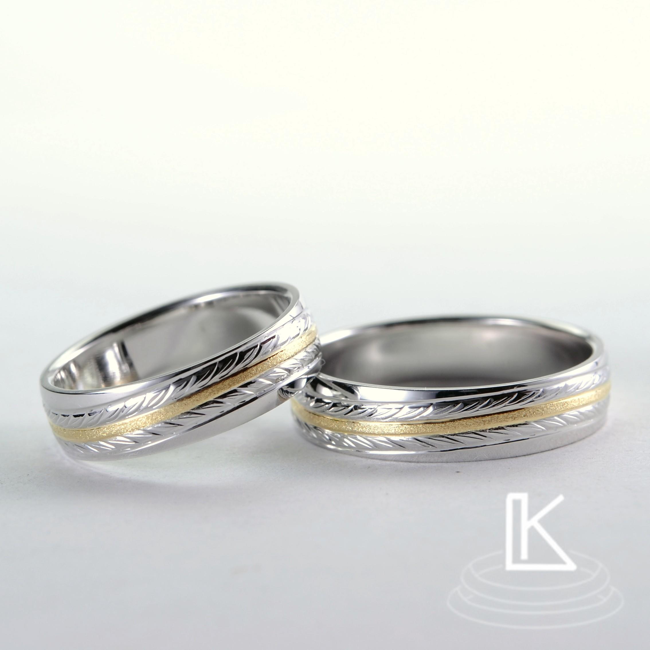 Snubní prsteny č. 74