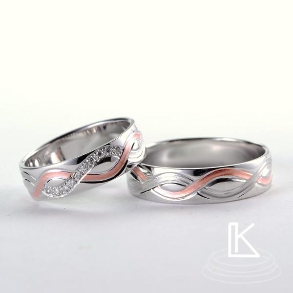 Snubní prsteny č. 75