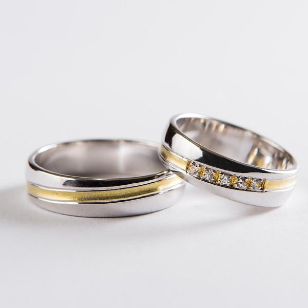 Snubní prsteny č 34