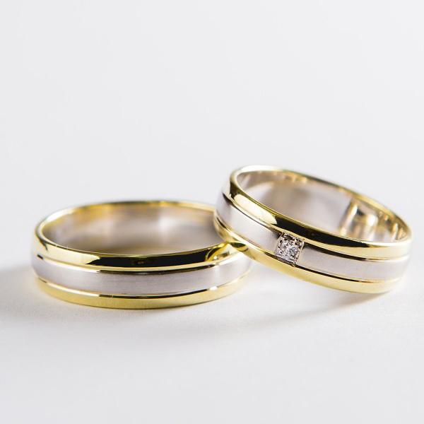 Snubní prsteny č 35