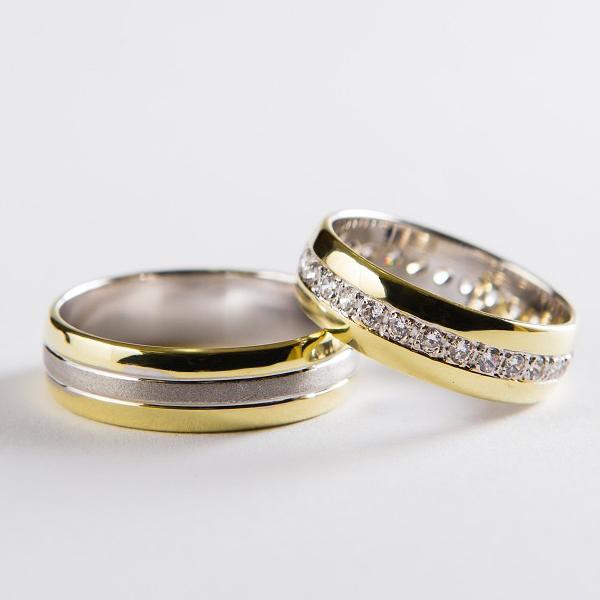Snubní prsteny č 38