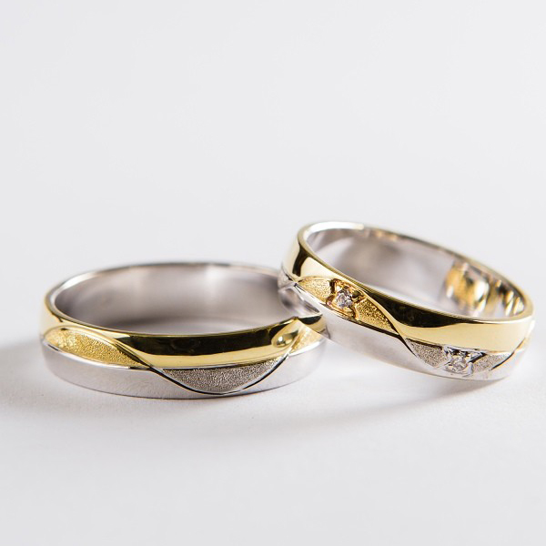 Snubní prsteny č 44