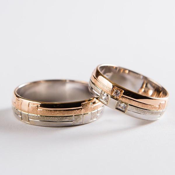 Snubní prsteny č 45