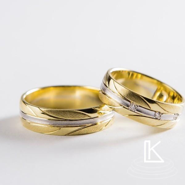 Snubní prsteny č 52
