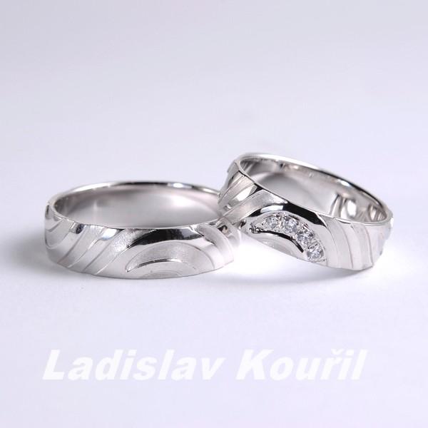 Snubní prsteny č 64