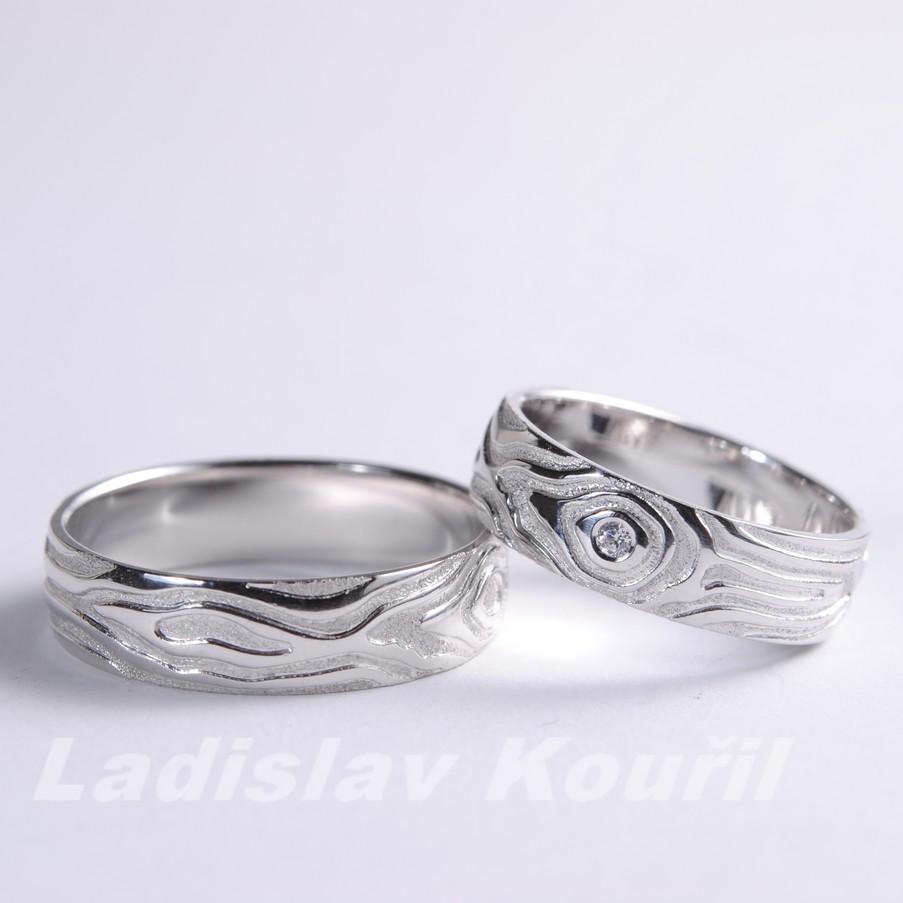 Snubní prsteny č 65