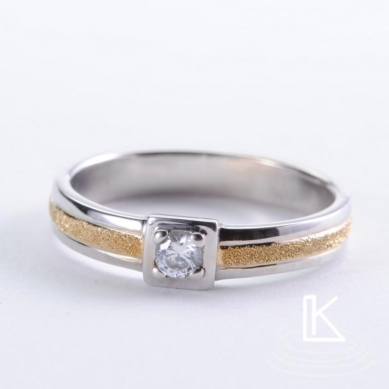 Zásnubní prsten č 8