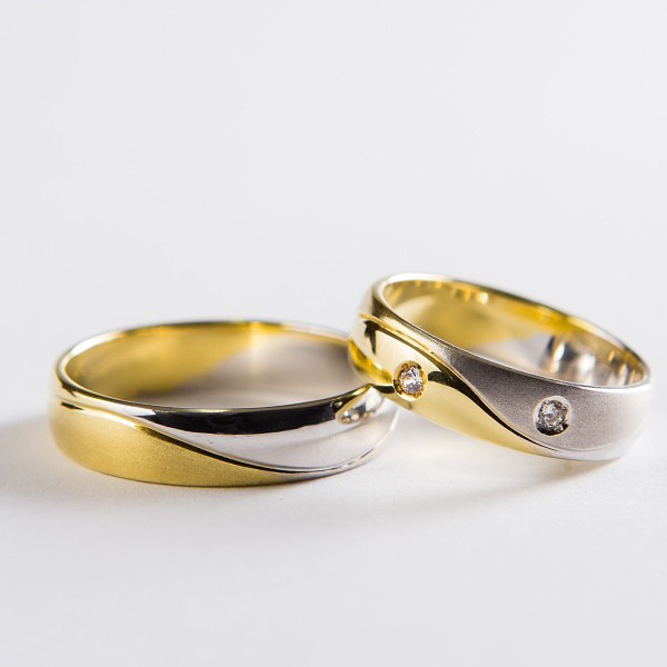 Snubní prsteny č 8