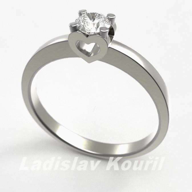 Zásnubní prsten č 21